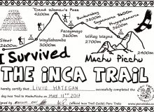 Victory on Inca Trail